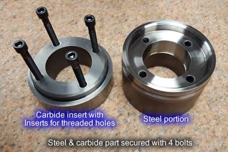 Steel and Carbide Parts